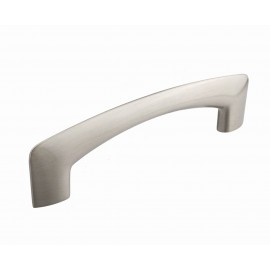 "5"" inch (128mm) P88470/128SN Slightly Brushed Satin Nickel Modern Style Kitchen Cabinet Pull Handle Closet Wood Door Pull handle Cabinet Door Decorative Hardware Home Decor Cabinet Furniture Pull Drawer Handle Cupboard Pull"
