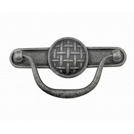 "p88687/96IG 3-3/4""inch (96mm) Beautiful Vintage Weathered Iron Gray Kitchen Cabinet Pull Handle Closet Wood Door Pull handle Cabinet Door Decorative Hardware Home Decor Cabinet Furniture Pull Drawer Handle Cupboard Pull"