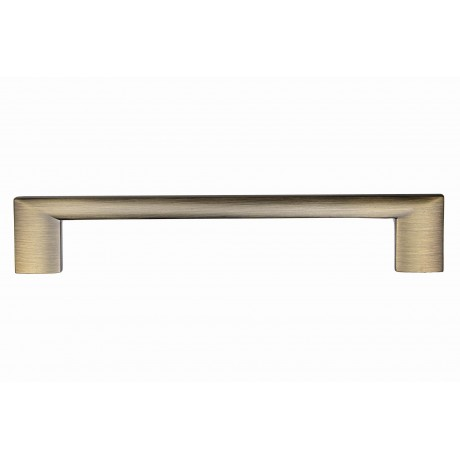 "6-1/4"" inch (160mm) P88912/160ABB Antique Bronze Brushed Euro Design Modern Style Kitchen Cabinet Pull Handle Closet Wood Door Pull handle Cabinet Door Decorative Cabinet Hardware Home Decor Furniture Pull Drawer Handle Cupboard Pull"