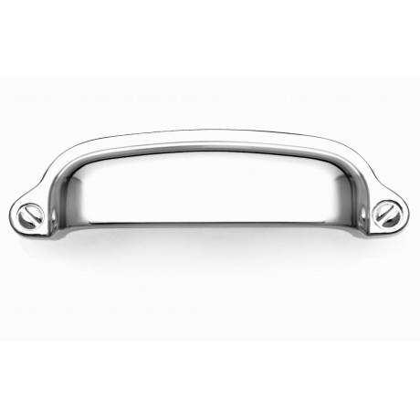"P8S001/76CP 3"" inch (76mm) CP Finish Chrome Plated Shining Bright Style Kitchen Cabinet Pull Handle Closet Wood Door Pull handle Cabinet Door Decorative Cabinet Hardware Home Decor Furniture Pull Drawer Handle Cupboard Pull"