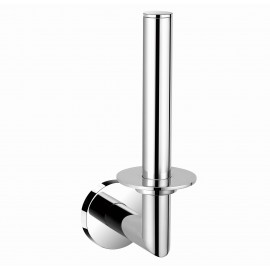 "B13690/CP 7"" inch (18cm) Wall Mount Bathroom Chrome Tissue Roll Holder Hanger Toilet paper holder, Bathroom Kitchen Paper Towel Dispenser , ALL SOLID BRASS MADE Bright Polished Chrome Finish. High Quality Bath Hardware Home Decor Decorative"