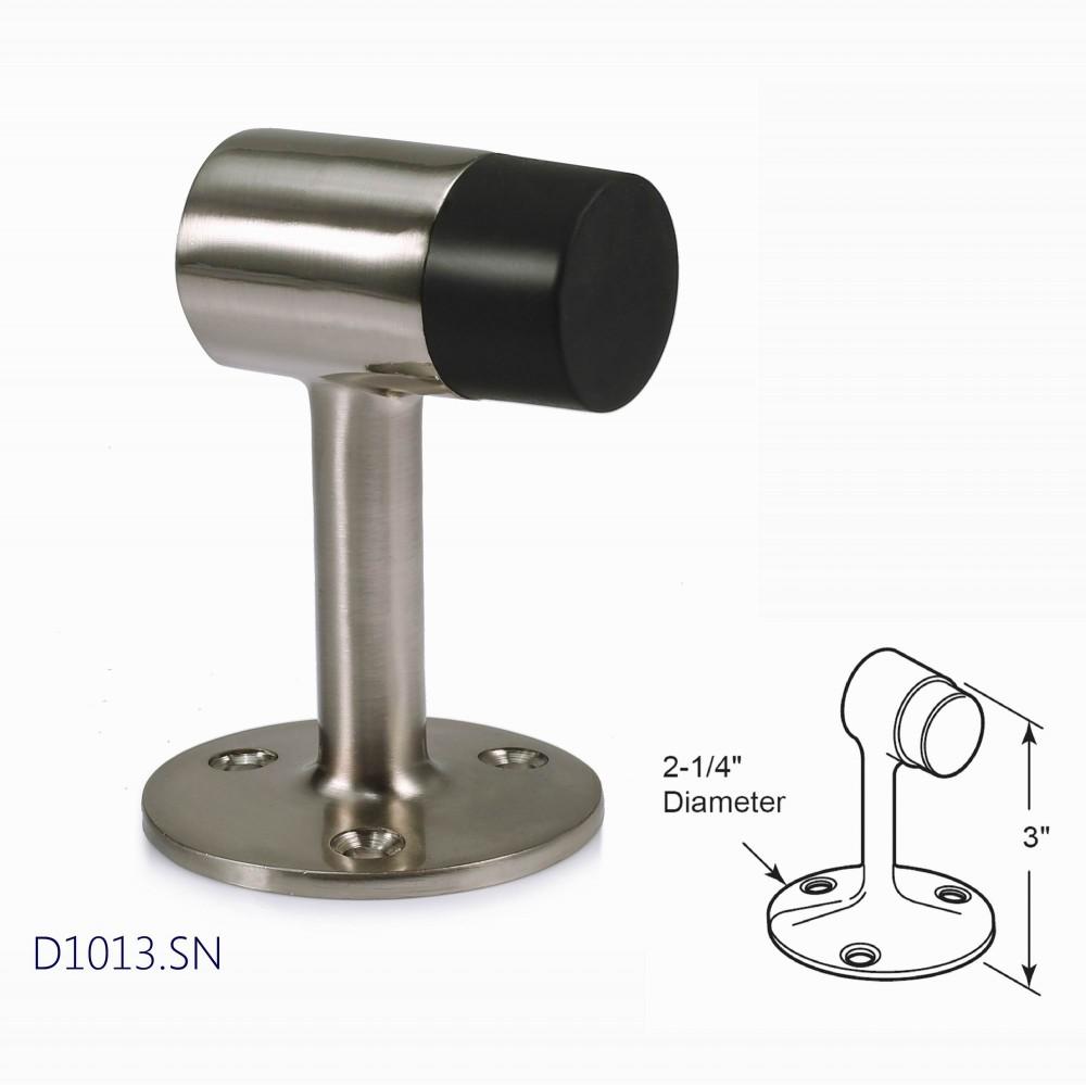 Amdecor D1013SN Floor Mount Door Stop Decorative Door Hardware Builders Hardware quick install Home Hardware Home Decor