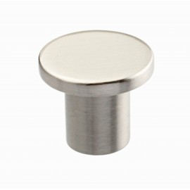 "9/10 ""inch (24mm) N88478/24SN Slightly Brushed Satin Nickel style Kitchen Cabinet Knob pull Closet Wood Door Knob Cabinet Door Decoration Hardware Home Decor Furniture Handle Knob Drawer Knob Cupboard Knob"