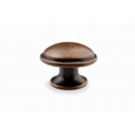 "Amdecor N88421/36AC 1-2/5"" inch (36mm) Beautiful Vintage Antique Copper Kitchen Cabinet Knob Closet Wood Door Knob handle Cabinet Door Decorative Hardware Home Decor Furniture Pull Drawer Knob Cupboard Pull"