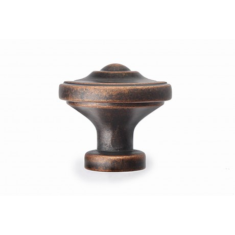 "Amdecor N88622/33AC 1-3/8"" inch (33mm) Beautiful Vintage Antique Copper Kitchen Cabinet Knob Closet Wood Door Knob handle Cabinet Door Decorative Hardware Home Decor Furniture Pull Drawer Knob Cupboard Pull"