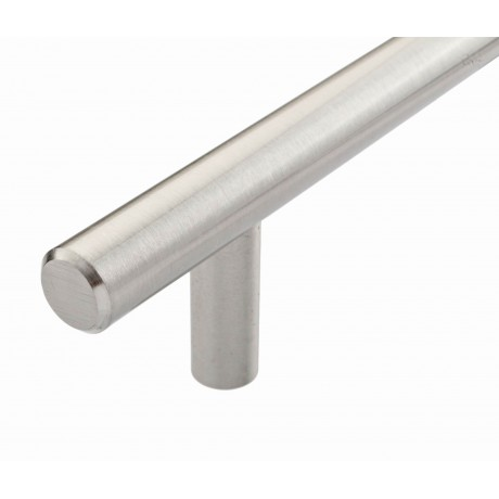 "P68078SN Heavy Duty Steel T Bar Handle  CC 3-3/4"",  5"",  6-1/4"" Bar Dia:1/2""(12mm) Cabinet Pull Knob Furniture Handle Wood Door Pull cupboard Handle"