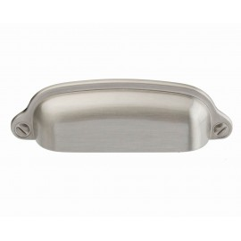 "3"" inch (76mm) P8S001/76SN Slightly Brushed Satin Nickel post-modern design Style Kitchen Cabinet Pull Handle Closet Wood Door Pull handle Cabinet Door Decorative Cabinet Hardware Home Decor Furniture Pull Drawer Handle Cupboard Pull"