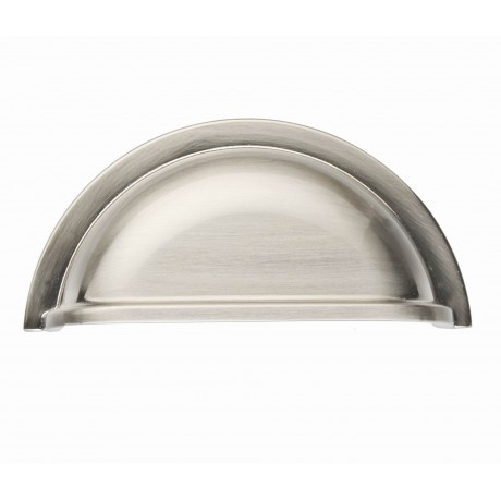 "3"" inch (76mm) P9001.76SN Slightly Brushed Satin Nickel Modern Style Kitchen Cabinet Pull Handle Closet Wood Door Pull handle Cabinet Door Decorative Cabinet Hardware Home Decor Furniture Pull Drawer Handle Cupboard Pull"