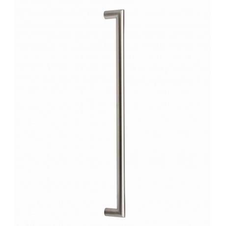"""P58356.SS Stainless Steel Euro Style Round Bar Pull Handle Bar Dia: 1/2""""(12mm)"""