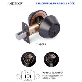 Amdecor D102ORB Door Lock, Decorative Door Hardware Builders Hardware Quick Install Home Hardware Home Decor