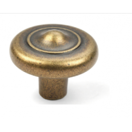 "N88703/25AE 1"" inch (25mm) Beautiful Vintage Antique English Brass Finish Kitchen Cabinet Knob Handle Closet Wood Door Knob Cabinet Door Decorative Hardware Home Decor Cabinet Furniture Knob Pull Drawer Handle Cupboard Pull Knob"